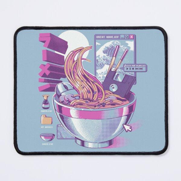 Web Ramen Mouse Pad