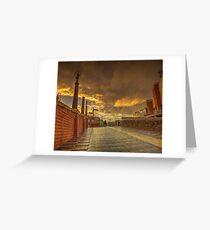 Quiet Conversations at dusk Greeting Card