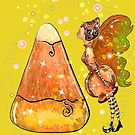 Kindy The Candy Corn Ball Fairy by TeelieTurner