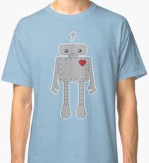 Cute Robot with Heart Classic T-Shirt