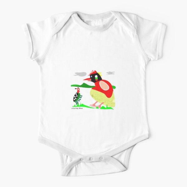 lustiges Käfer-Treffen... Baby Body Kurzarm