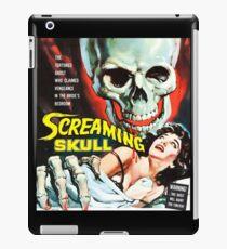 The Screaming Skull vintage movie poster iPad Case/Skin