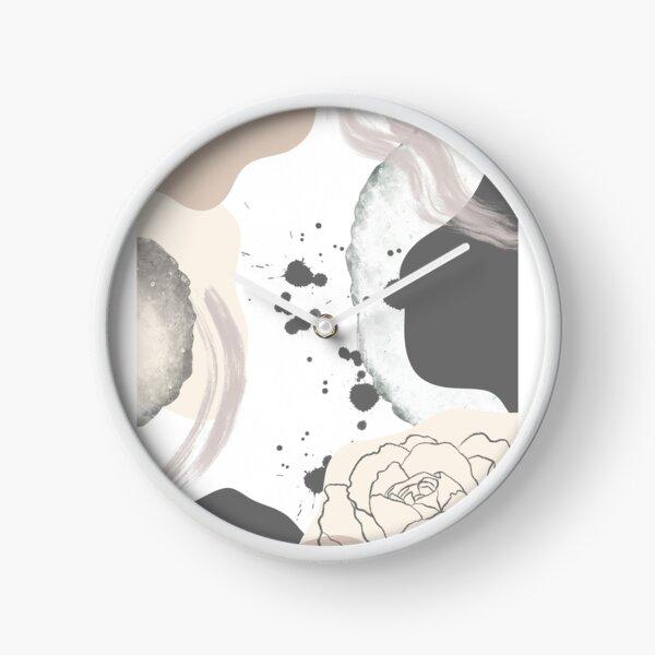 Art print neutral  Clock