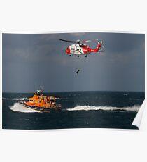 RNLI and Irish Coast Guard Poster