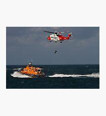 RNLI and Irish Coast Guard Photographic Print