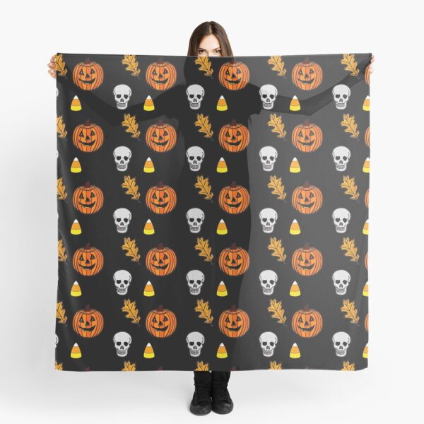 Halloween collage Scarf