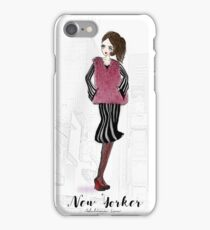 New Yorker iPhone Case/Skin