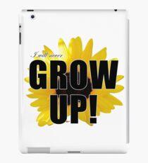 I will never grow up iPad-Hülle & Klebefolie