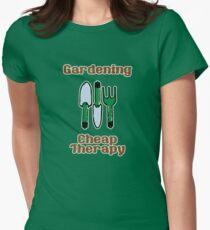Gardening = Cheap Therapy T-Shirt