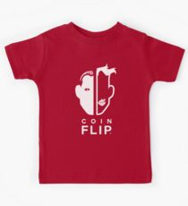 Switch sides with a coin flip! Kids Tee