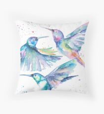 Humming Along Throw Pillow