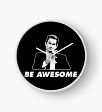 Be Awesome Barney Stinson How I Met Your Mother Clock