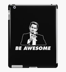 Be Awesome Barney Stinson How I Met Your Mother iPad Case/Skin