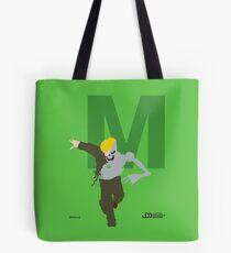 Metallo - Superhero Minimalist Alphabet Clothes Tote Bag