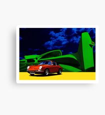 Porsche 911 JFK Airport Canvas Print