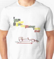 Senna Quote Slim Fit T-Shirt