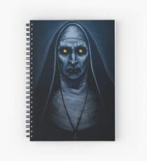 Valak Painting Spiral Notebook