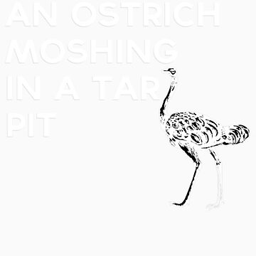 Ostrich by logeybearrr
