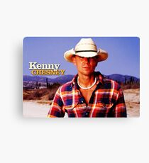 KENNY CHESNEY TOURS 7 Canvas Print