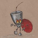 Puddle Stomping Robot  by justteejay