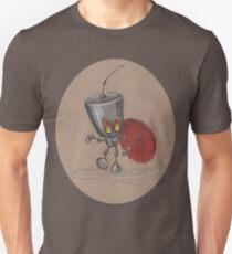 Puddle Stomping Robot  Unisex T-Shirt