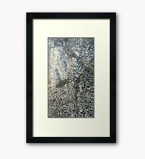 Bullets and Glass Framed Print