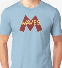 Minnehaha Waves Team Logo Slim Fit T-Shirt