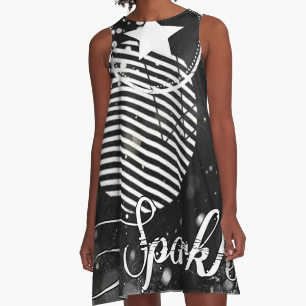 Sparkle A-Line Dress