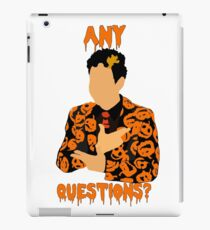 David Pumpkins-SNL iPad Case/Skin