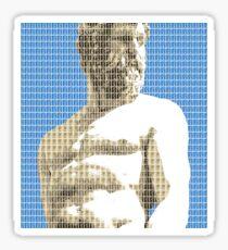 Greek Statue #2 - Blue Sticker