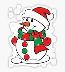 """""""Snowman"""" Sticker"""