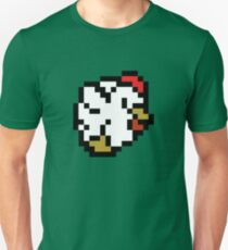 Chicken (8-bit / 16-bit / Pixelated) T-Shirt