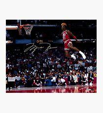 Michael Jordan Slam Dunk 2 Photographic Print