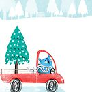 Christmas Tree Pick-Up by Holly Hatam
