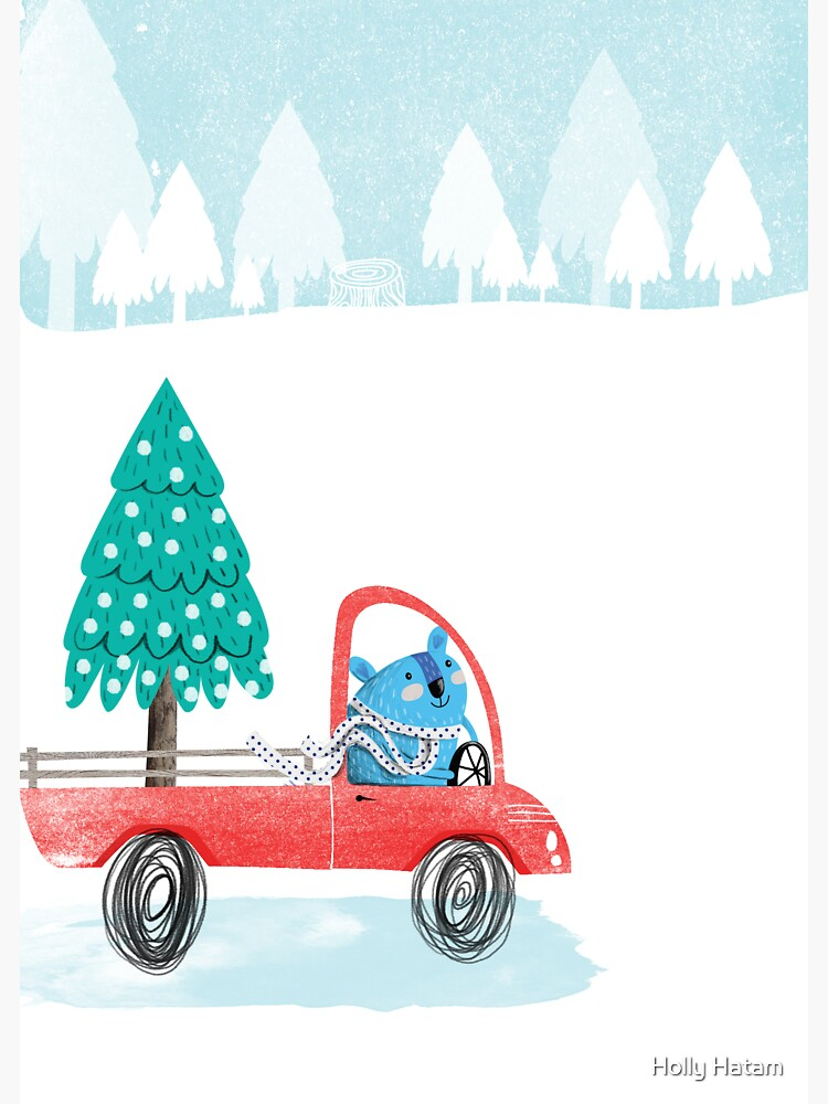 Christmas Tree Pick-Up by hollyhatam