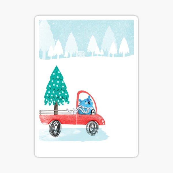 Christmas Tree Pick-Up Sticker