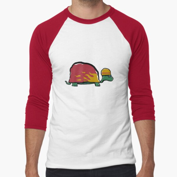racing turtle Baseball ¾ Sleeve T-Shirt