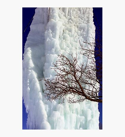 Ice Tower Photographic Print