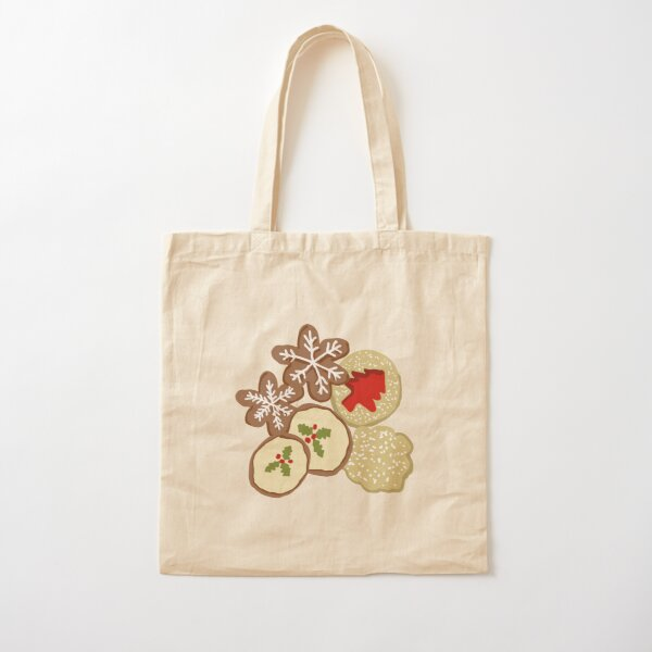 Iced decorated Christmas cookies, perfect for the festive baker Cotton Tote Bag
