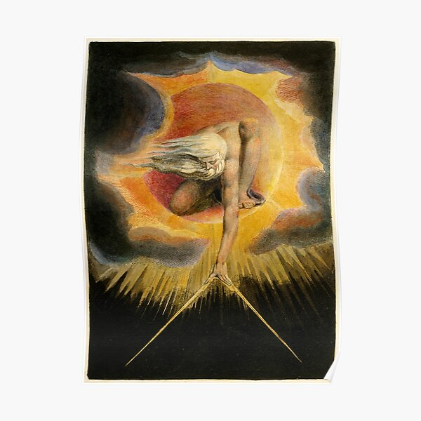 The Ancient of Days is a design by William Blake, originally published as the frontispiece to the 1794 work Europe a Prophecy Poster