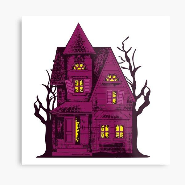 house of fear Metal Print
