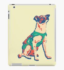Laika Space Dog Vector Russian Propaganda Pup Retro Old-Timey Vintage iPad Case/Skin