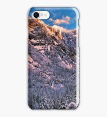 EL CAPITAN,WINTER MORNING iPhone Case/Skin
