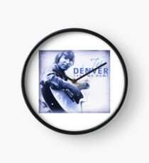 John Denver - Take Me Home Clock
