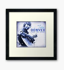 John Denver - Take Me Home Framed Print