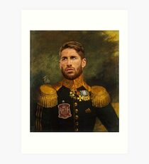 Don Sergio Ramos Art Print