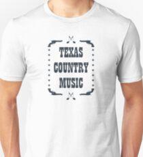 Texas Country Music (black) T-Shirt