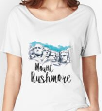 Mount Rushmore Women's Relaxed Fit T-Shirt