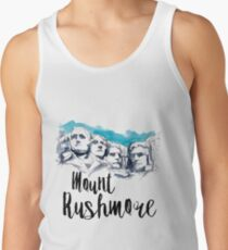 Mount Rushmore Tank Top