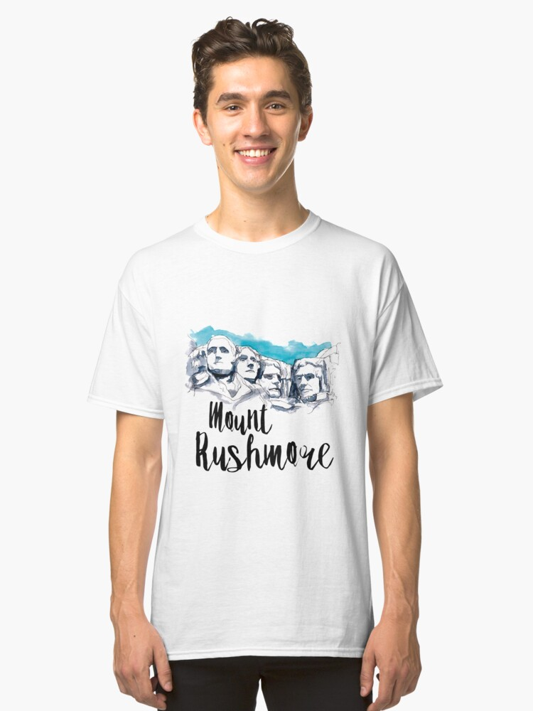 Alternate view of Mount Rushmore Classic T-Shirt